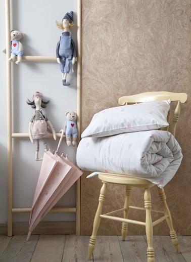 Hibboux Bebek Nevresim+Yastık Kılıfı Renkli